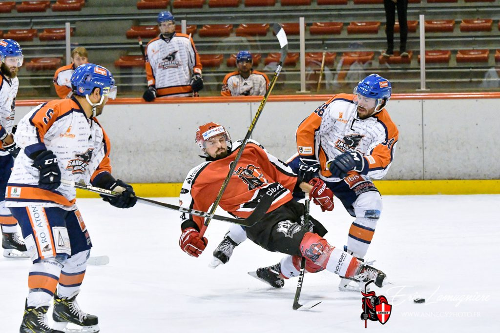 Match hockey sur glace Annecy vs Clermont-Ferrand