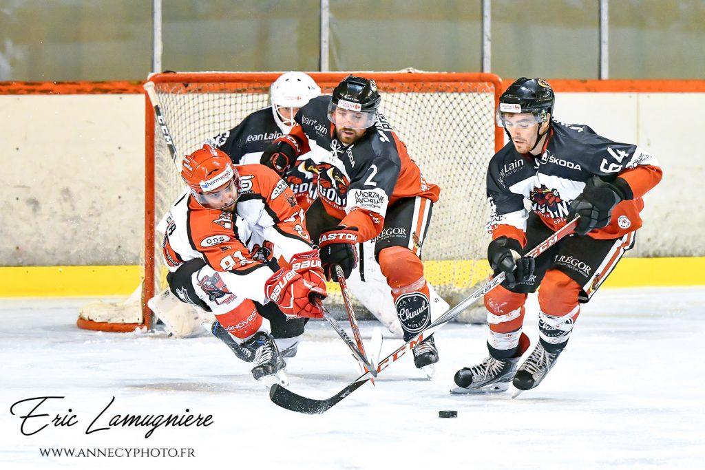 Match hockey  Annecy contre Morzine-Avoriaz du 06/10/2018