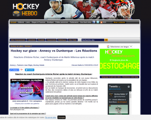 Screenshot_2018-08-03 Hockey sur glace Annecy vs Dunkerque - Les Réactions - Division 1 Hockey Hebdo