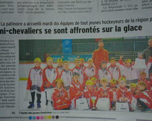 presse dauphine hockey